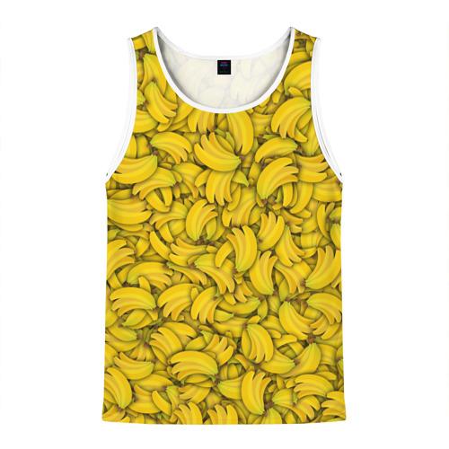 Мужская майка 3D  Фото 01, Бананы
