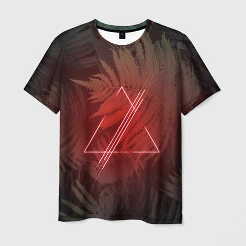 Мужская футболка 3D  Фото 03, Neon light