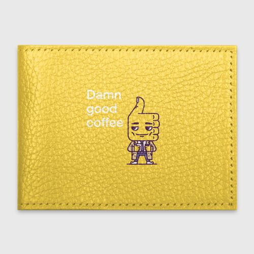 Обложка для студенческого билета  Фото 01, Чертовски хороший кофе