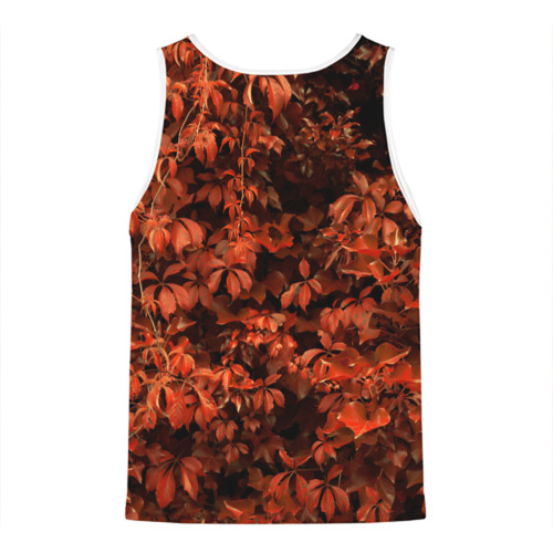 Мужская майка 3D  Фото 02, осенние листья