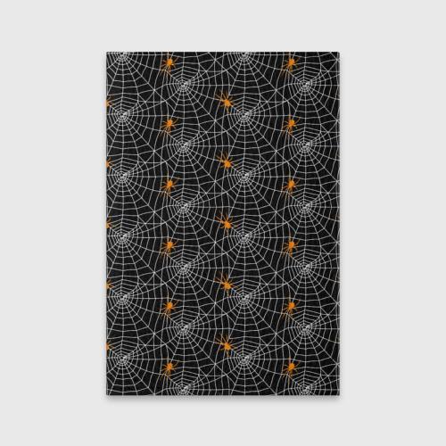 Обложка для паспорта матовая кожа Паутина Фото 01