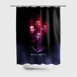 Группа Imagine Dragons, дым
