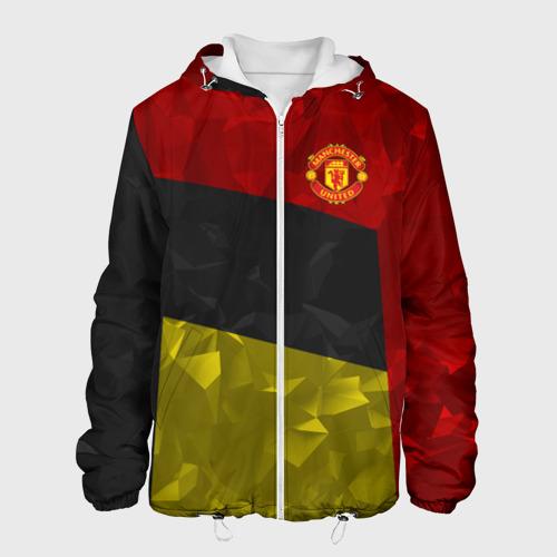Мужская куртка 3D  Фото 01, Manchester United 2018