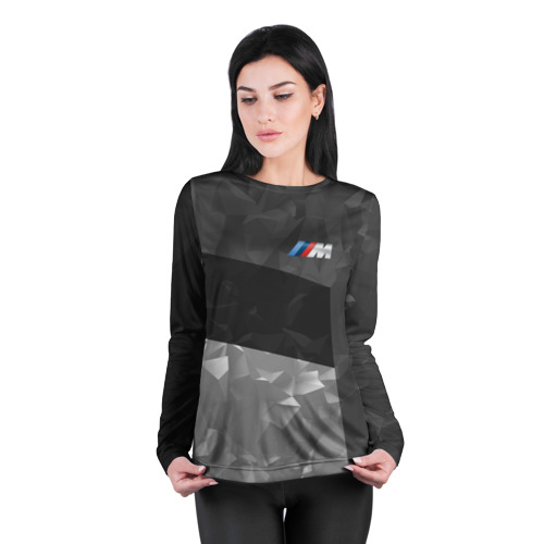 Женский лонгслив 3D для беременных  Фото 04, BMW 2018 Black Design