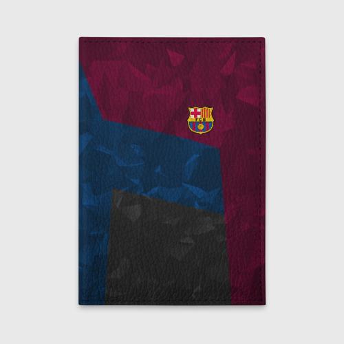 Обложка для автодокументов FC Barcelona 2018 Abstract