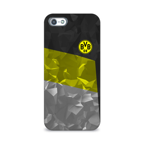 Чехол для Apple iPhone 5/5S 3D  Фото 01, Borussia Dortmund 2018