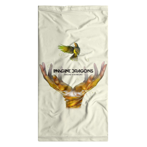 Бандана-труба 3D Руки с птичкой Imagine Dragons