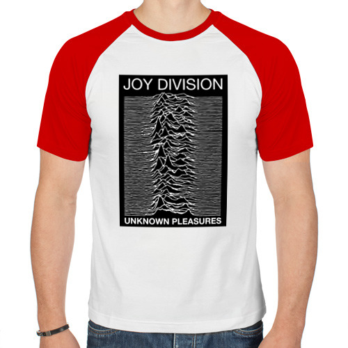 Мужская футболка реглан  Фото 01, Joy Division