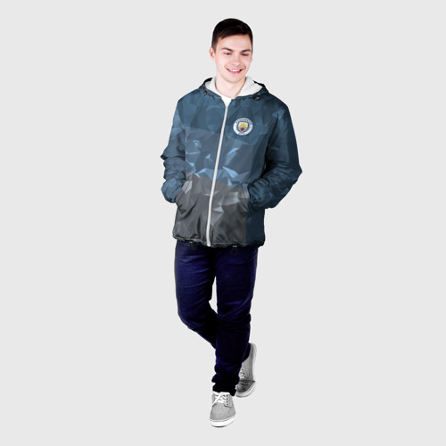 Мужская куртка 3D  Фото 03, Manchester city 2018 Abstract