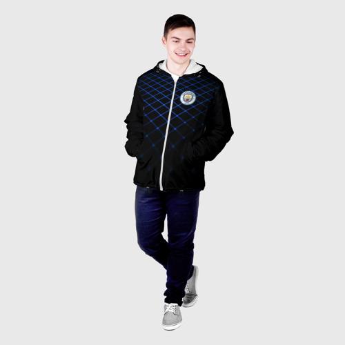 Мужская куртка 3D  Фото 03, Manchester city 2018 Line