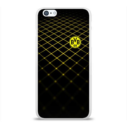 Чехол для Apple iPhone 6Plus/6SPlus силиконовый глянцевый  Фото 01, Borussia Dortmund 2018 line