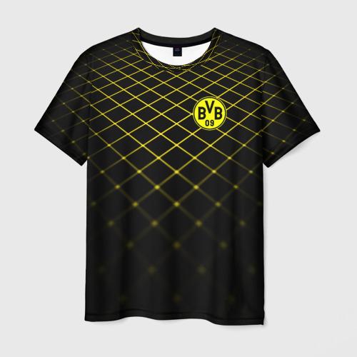 Мужская футболка 3D  Фото 01, Borussia Dortmund 2018 line