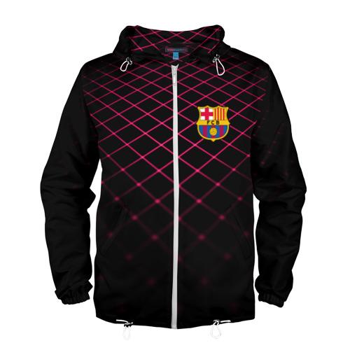 Мужская ветровка 3D  Фото 01, FC Barcelona 2018 Line