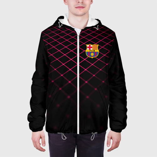 Мужская куртка 3D  Фото 04, FC Barcelona 2018 Line