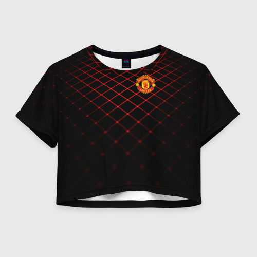 Женская футболка Cropp-top Manchester United 2018 Line