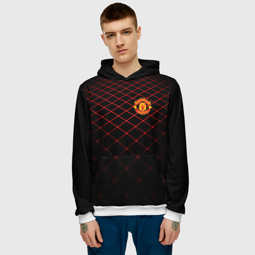 Мужская толстовка 3D  Фото 03, Manchester United 2018 Line
