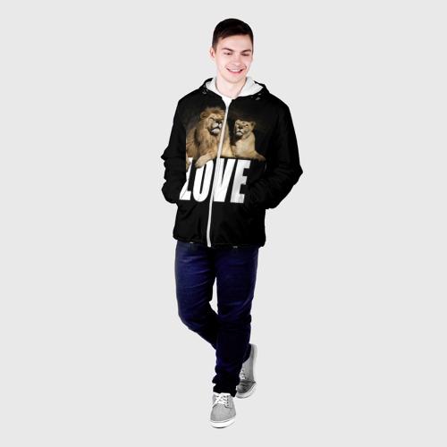 Мужская куртка 3D  Фото 03, LOVE