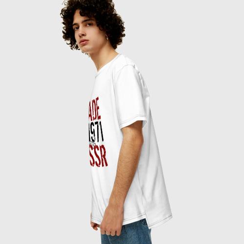 Мужская футболка хлопок Oversize Made in USSR 1971 Фото 01