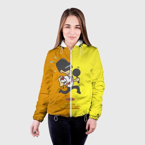 Женская куртка 3D  Фото 03, PUBG