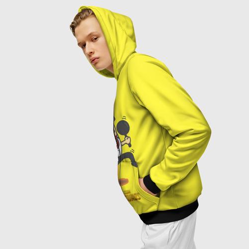 Мужская толстовка 3D на молнии PUBG Фото 01
