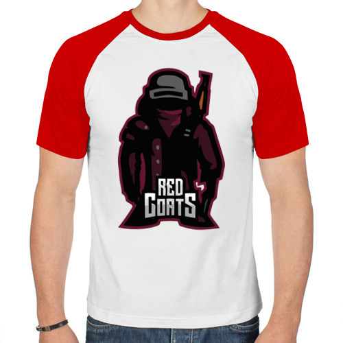 Мужская футболка реглан  Фото 01, RED COATS