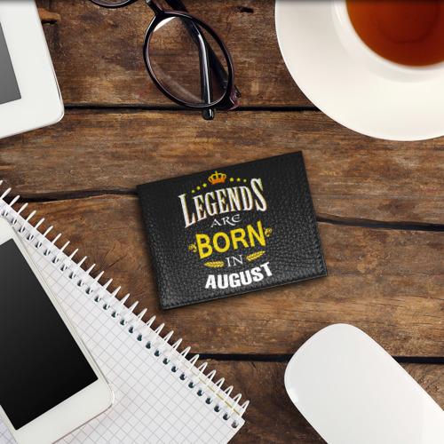 Обложка для студенческого билета  Фото 03, Legends are born in august