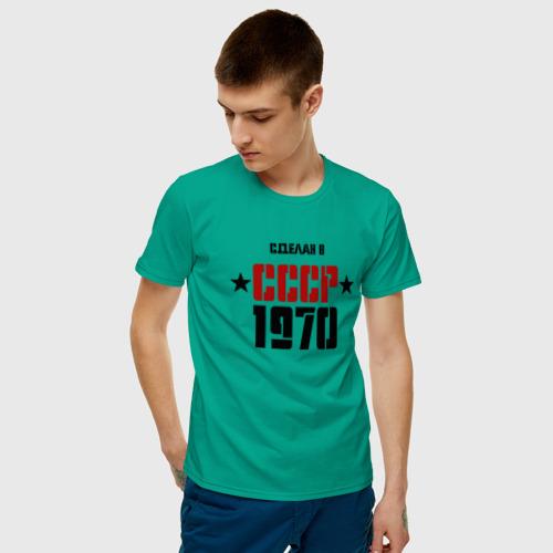 Мужская футболка хлопок Сделан в СССР 1970 Фото 01