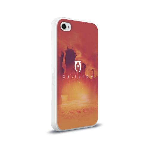 Чехол для Apple iPhone 4/4S силиконовый глянцевый  Фото 02, the elder scrolls, TES