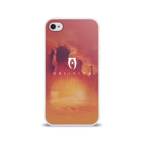 Чехол для Apple iPhone 4/4S силиконовый глянцевый  Фото 01, the elder scrolls, TES