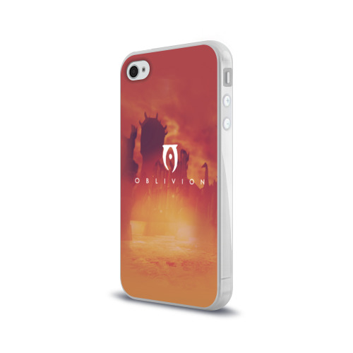 Чехол для Apple iPhone 4/4S силиконовый глянцевый  Фото 03, the elder scrolls, TES