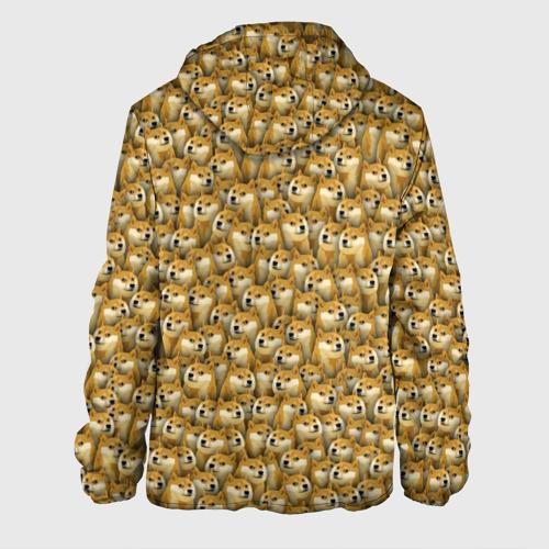 Мужская куртка 3D  Фото 02, Собачки Doge