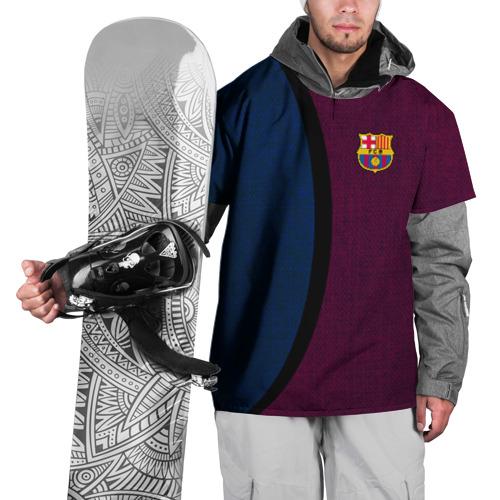 Накидка на куртку 3D  Фото 01, FC Barcelona 2018 Original