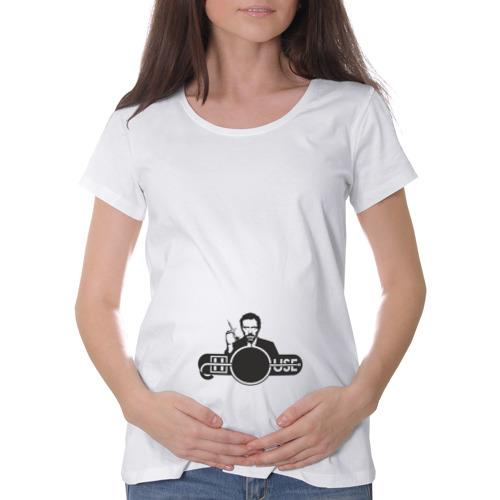 Футболка для беременных хлопок  Фото 01, Доктор Хаус