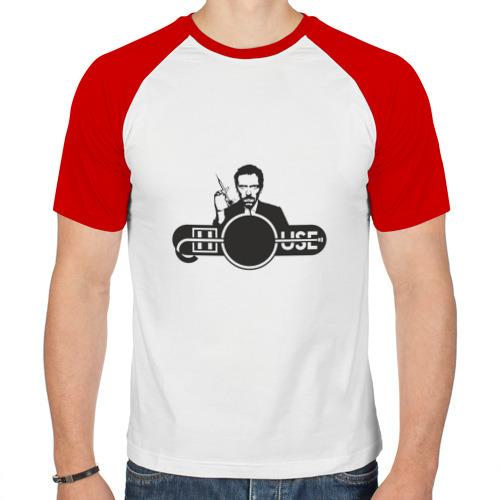 Мужская футболка реглан  Фото 01, Доктор Хаус