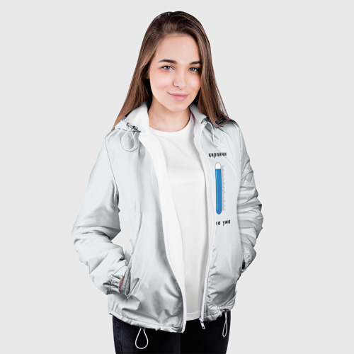 Женская куртка 3D  Фото 04, кирпичи