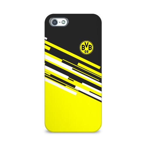 Чехол для Apple iPhone 5/5S 3D  Фото 01, FC Borussia 2018 Sport