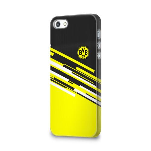 Чехол для Apple iPhone 5/5S 3D  Фото 03, FC Borussia 2018 Sport