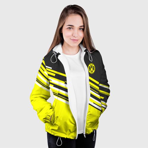 Женская куртка 3D  Фото 04, FC Borussia 2018 Sport