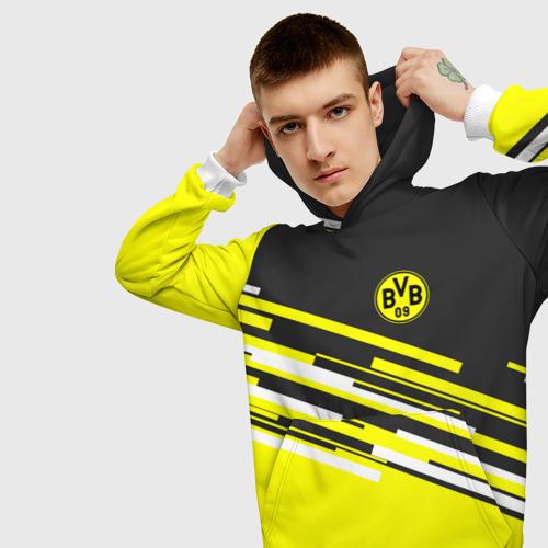 Мужская толстовка 3D  Фото 01, FC Borussia 2018 Sport