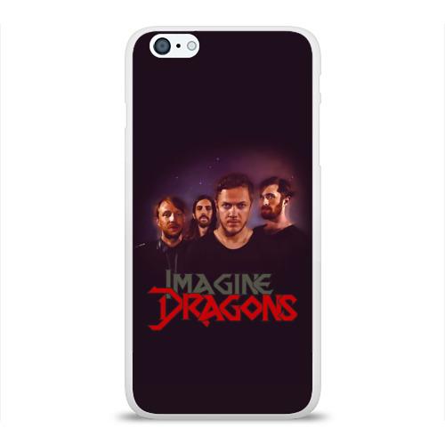 Чехол для Apple iPhone 6Plus/6SPlus силиконовый глянцевый  Фото 01, Группа Imagine Dragons