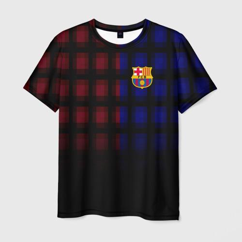 Мужская футболка 3D  Фото 03, FC Barcelona 2018