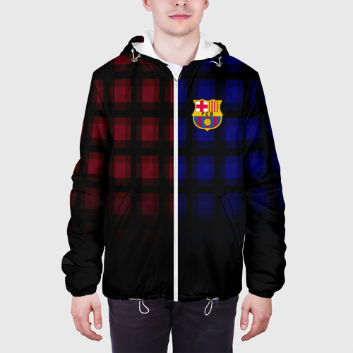 Мужская куртка 3D  Фото 04, FC Barcelona 2018