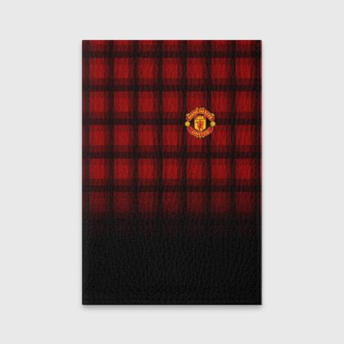 Обложка для паспорта матовая кожа  Фото 01, Manchester United 2018