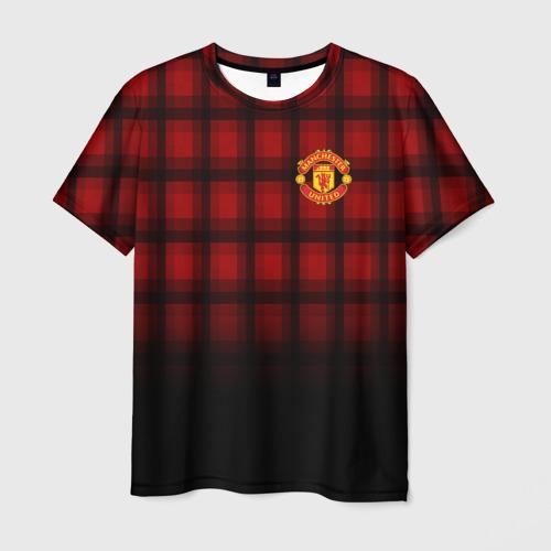 Мужская футболка 3D  Фото 03, Manchester United 2018
