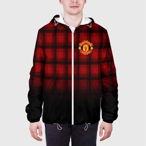 Мужская куртка 3D  Фото 04, Manchester United 2018