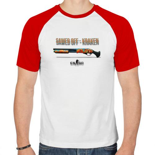 Мужская футболка реглан  Фото 01, Saved off - kraken