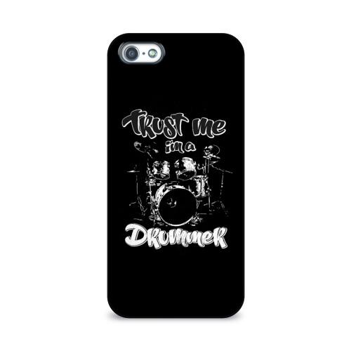 Чехол для Apple iPhone 5/5S 3D  Фото 01, Drums