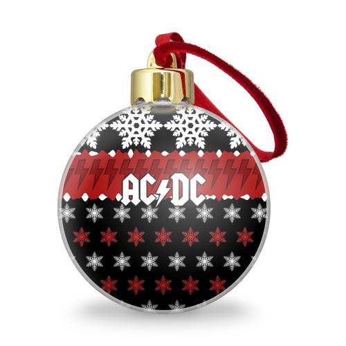Ёлочный шар с блестками  Фото 01, Праздничный AC/DC