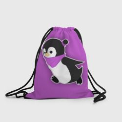 Penguin purple