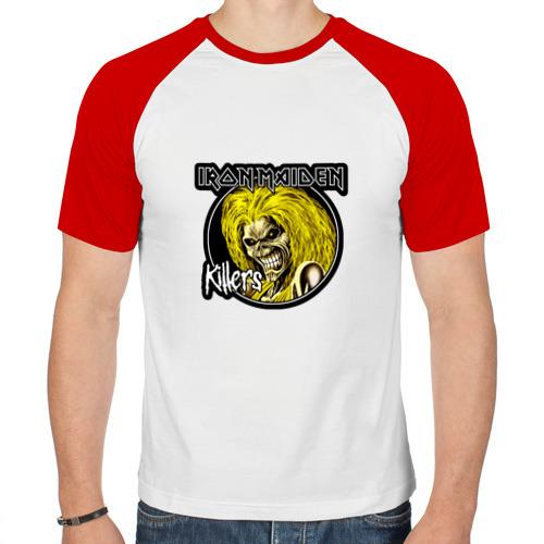 Мужская футболка реглан  Фото 01, Iron Maiden Killers
